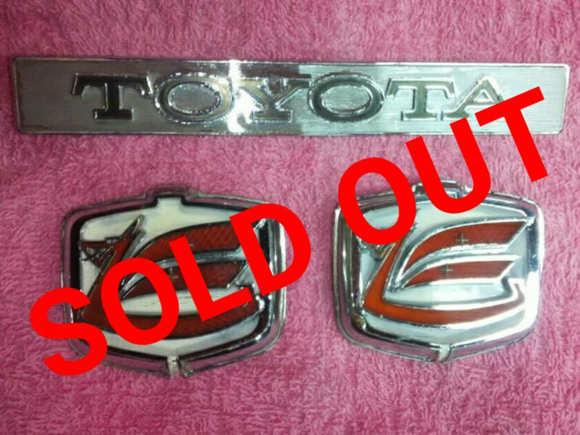 TA22 セリカ エンブレム 3点SOLD OUT
